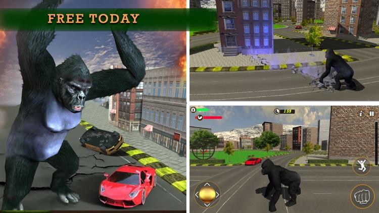 Ultimate Rampage Mad Gorilla screenshot-4