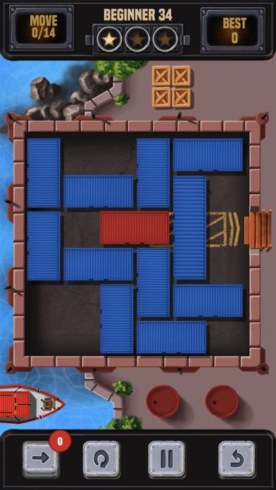 コンテナブロックパズルのブロックを解除するスクリーンショット5
