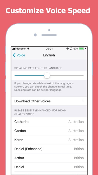 text to speech voicepaper 2 by umemoto non ios united states