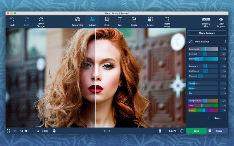 Photo Retouch Movavi Screenshots