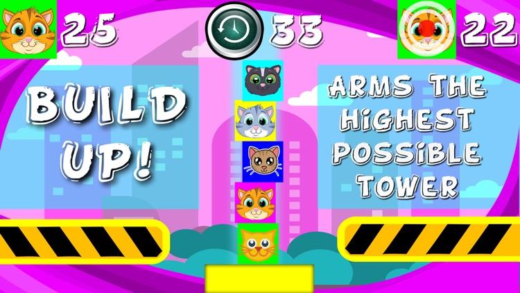 Kitty Cat Tower Blocks screenshot-4