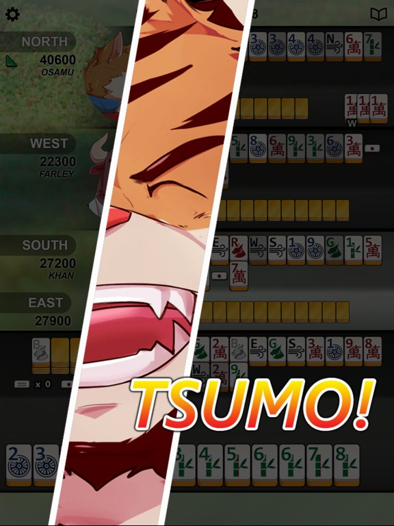 Игра Kemono Mahjong