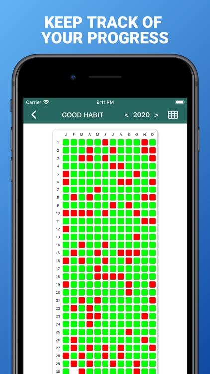 Cross out calendars screenshot-6