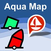 Aqua Map: Marine & Lake charts icon