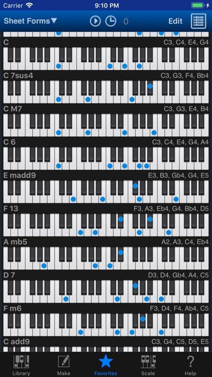 Piano Kit Piano Chords By Hidenori Matsuoka