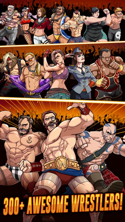 The Muscle Hustle: Wrestling