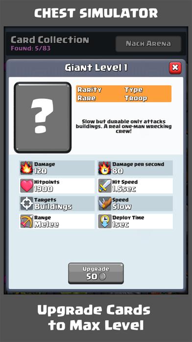 Chest Simu for Clash RoyaleScreenshot von 5