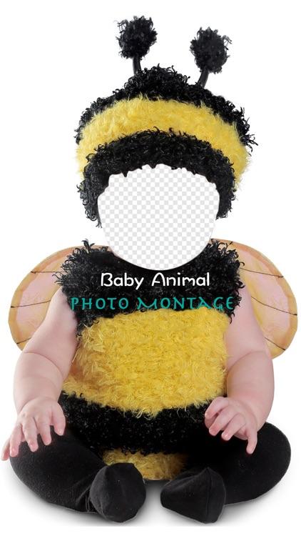 Baby Animal Photo Montage
