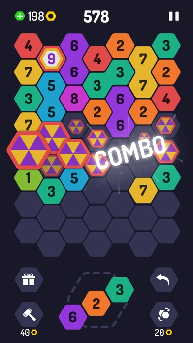 UP 9 - Hexa Puzzle! screenshot 3