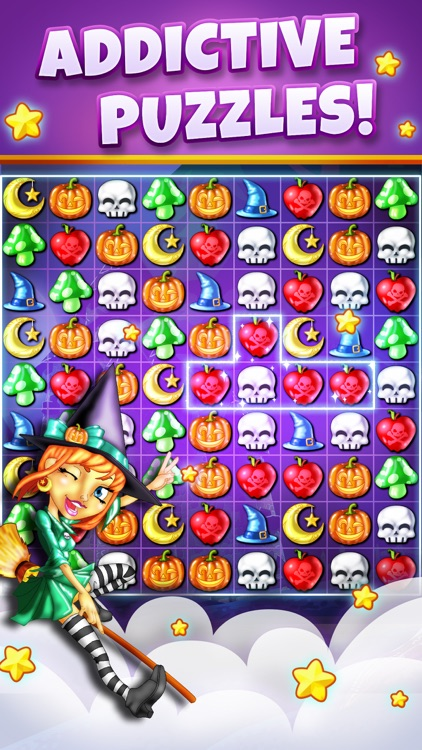 Witch Puzzle - Match 3 Game screenshot-0