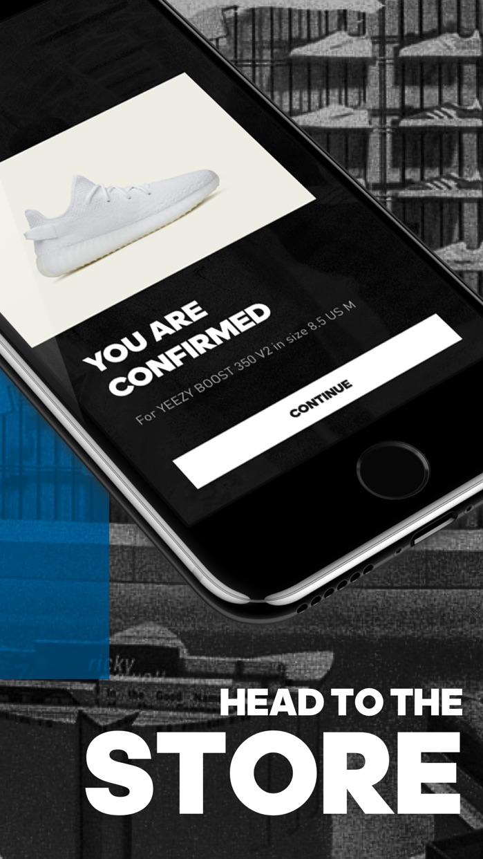adidas CONFIRMED - Sneakers Screenshot