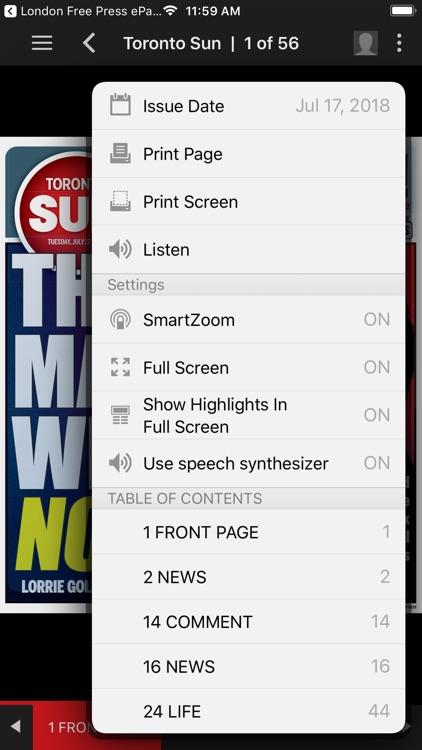Toronto Sun ePaper screenshot-4