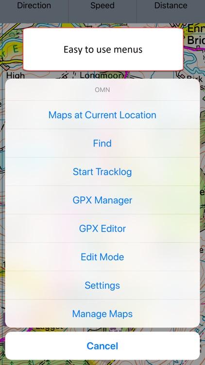 OMN - Outdoor Map Navigator screenshot-5