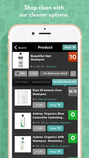 Clean App On ‎think – Dirty Shop Store The