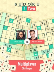 Sudoku 4Two Multiplayer ipad images