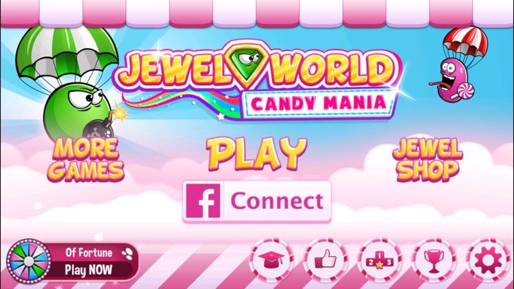 Jewel World Crush this Candy Mania screenshot-4