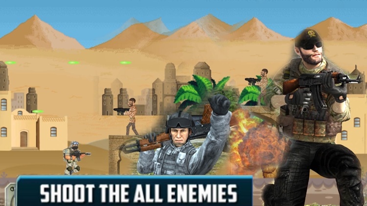 Commando Forces: Shoot Enermy