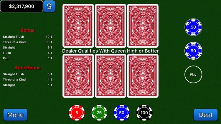 Beat the House 3 Card screenshot-3