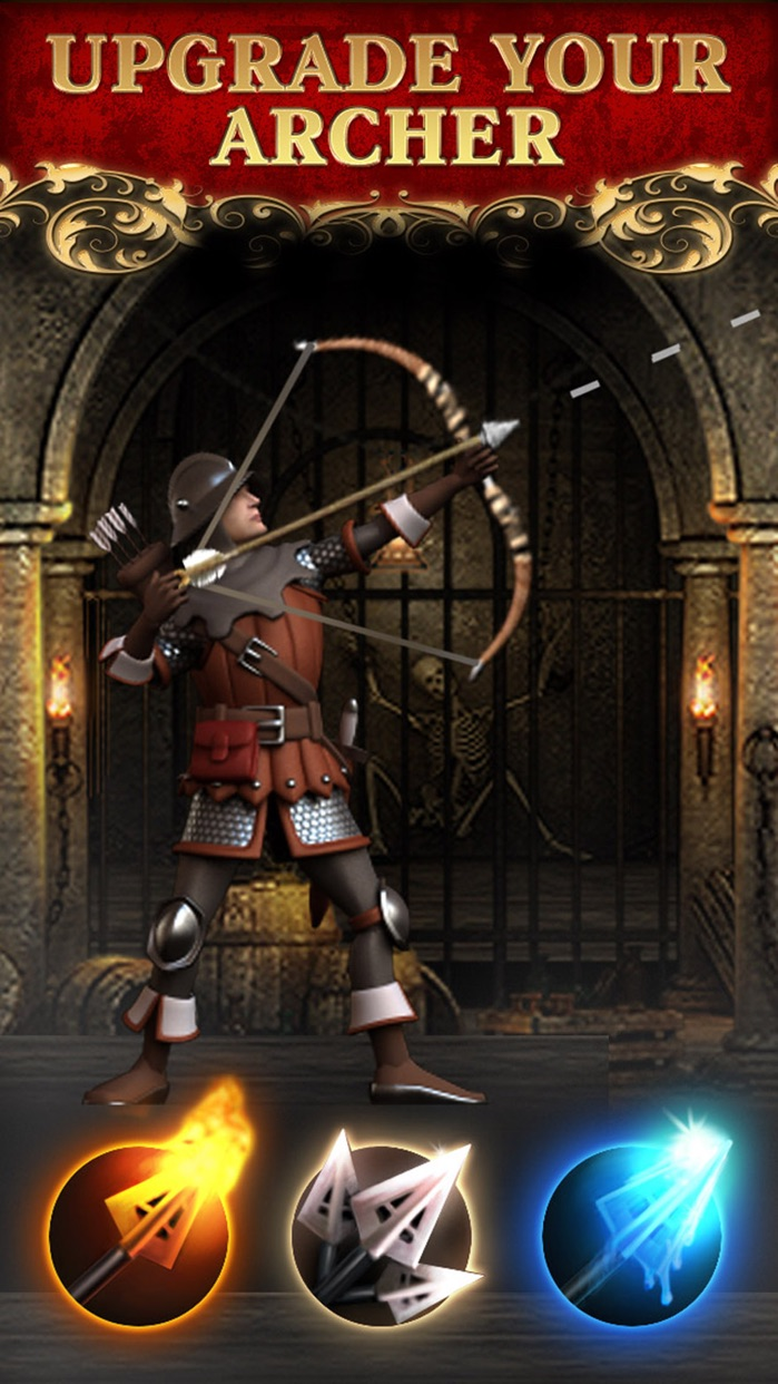Archery! King of bowmasters skill shooting games Screenshot