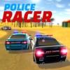 警察の車のデス・レーシング・シムター2017