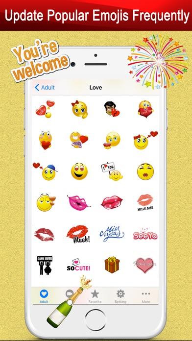Twitch Emoji - Emotion keyboard Text Adult Smileys-3