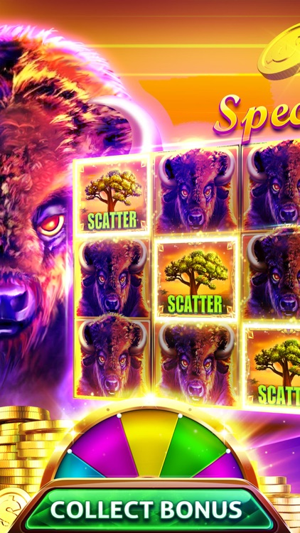 Buffalo™ Slots Machine - Best Vegas Slots & Pokies screenshot-0