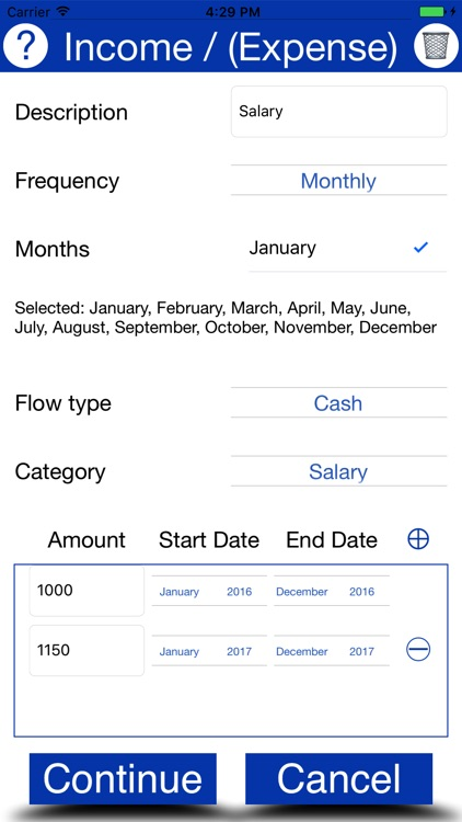 MoneyManager: personal finance screenshot-3