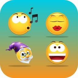 Emoji Exploji Smiley Stickers - Upgrade to Large!