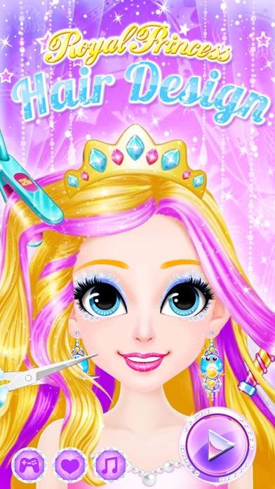 プリンセスヘアスタイル , 女の子のゲームをドレスアップのおすすめ画像3