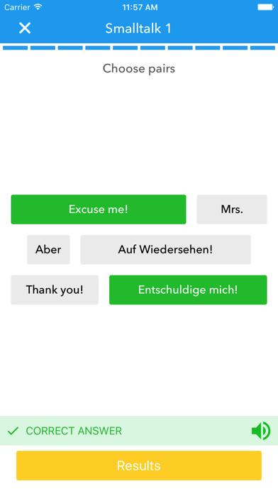 SpeakUP German-English screenshot four