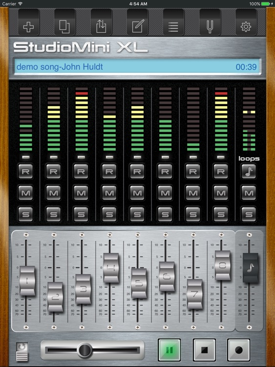 StudioMini XL - Your trusty music recorder screenshot-0