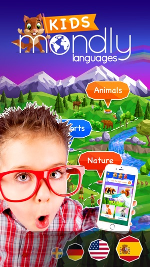 Kids learn languages by Mondly on the App Store
