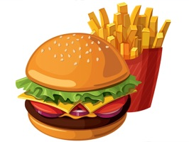 Lets Go To Lunch Food Sticker Pack