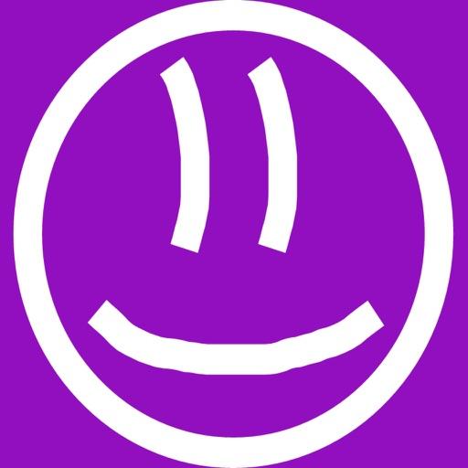 Purple Stickman
