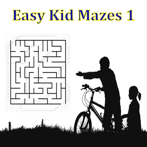 Easy Kid Mazes 1