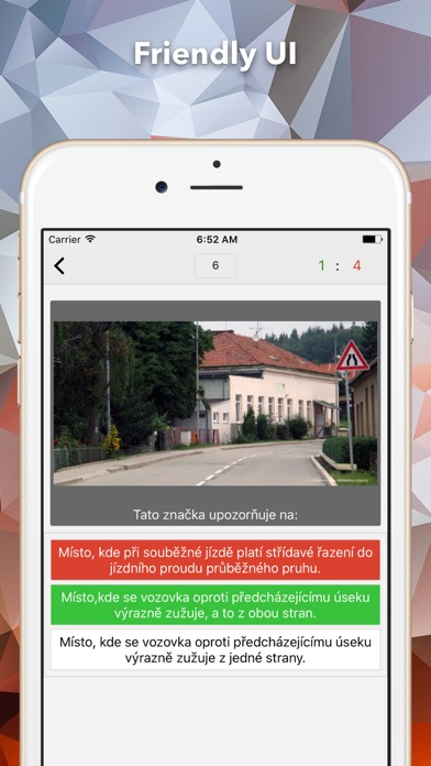 Screenshot #2 pour Autoškola CZ řidičský teoretický test - 2017