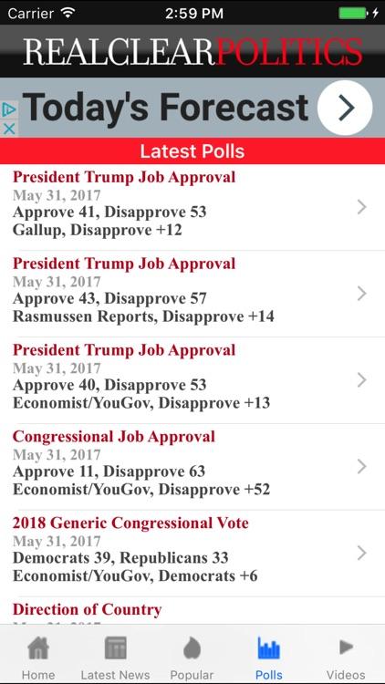 Real Clear Politics screenshot-3