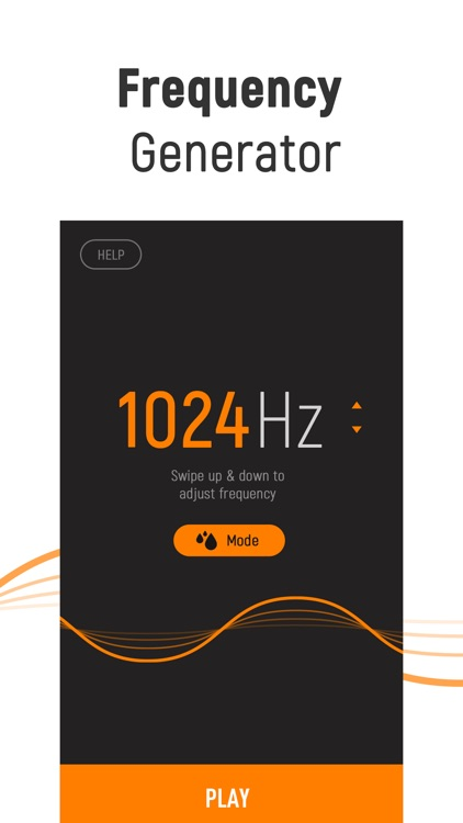 Frequency Sound Generator App