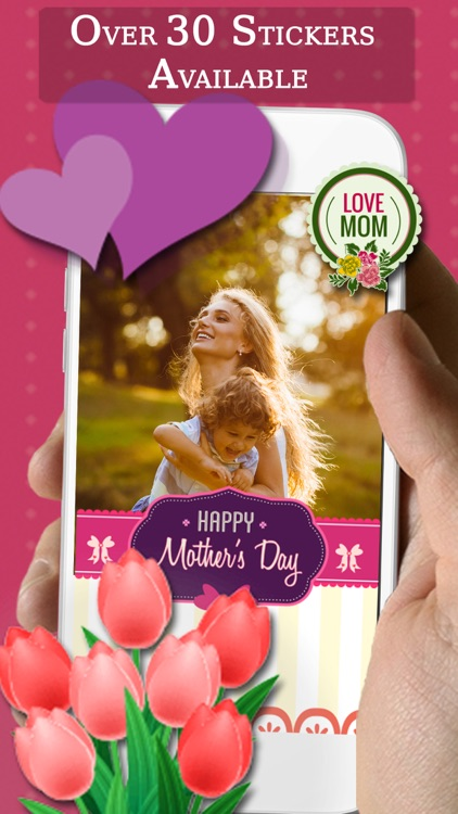 Mother's Day Photo Frame+