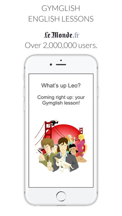 Learn English with Le Monde app image