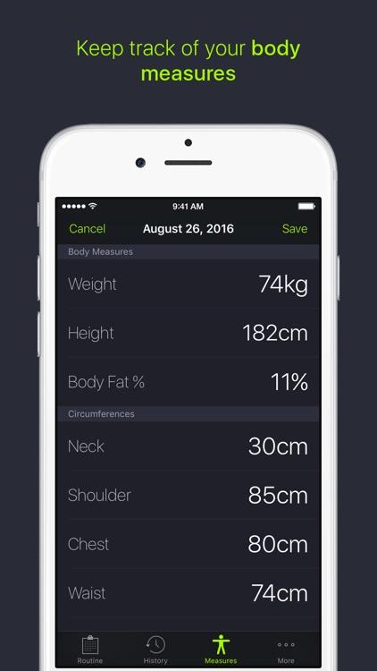 SmartGym: Fitness Weight Lifting & Workout Trainer screenshot-3