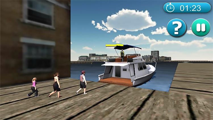 Real Cruise Ship simulator 3D 2017 screenshot-3