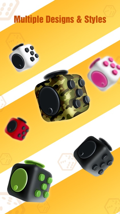 Fidget Cube - Glide, Flick & Spin Finger Simulator screenshot-1