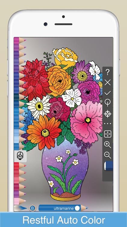 COLOREST - Glitter Pigment Coloring Book screenshot-0