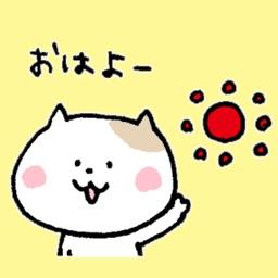 手描きのゆるネコ