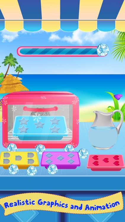 Milkshake Cooking Master-Beach Restaurant Party screenshot-1