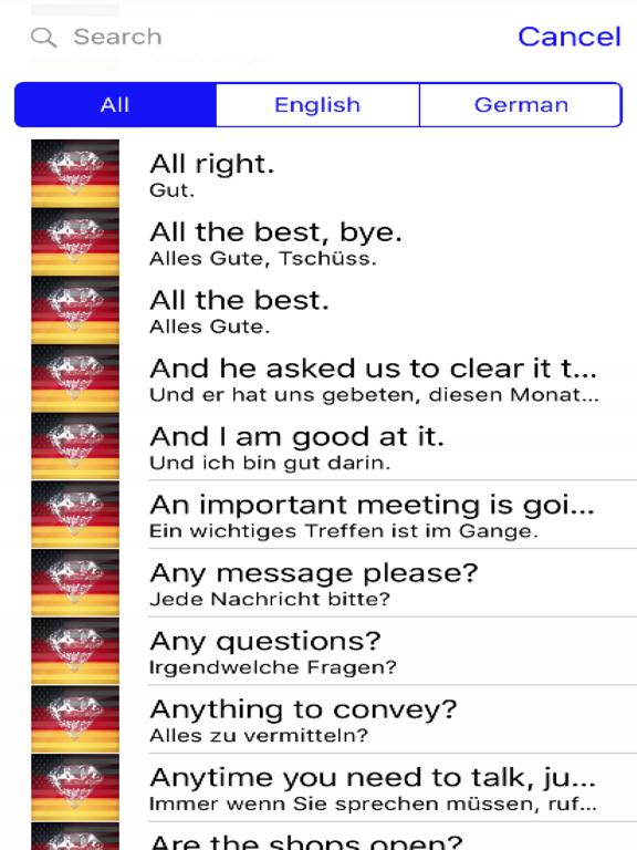 German Phrases screenshot 4