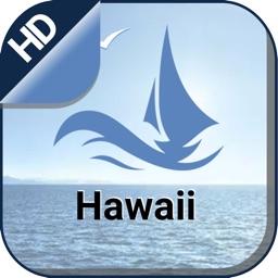 Hawaii boating gps nautical offline sailing charts