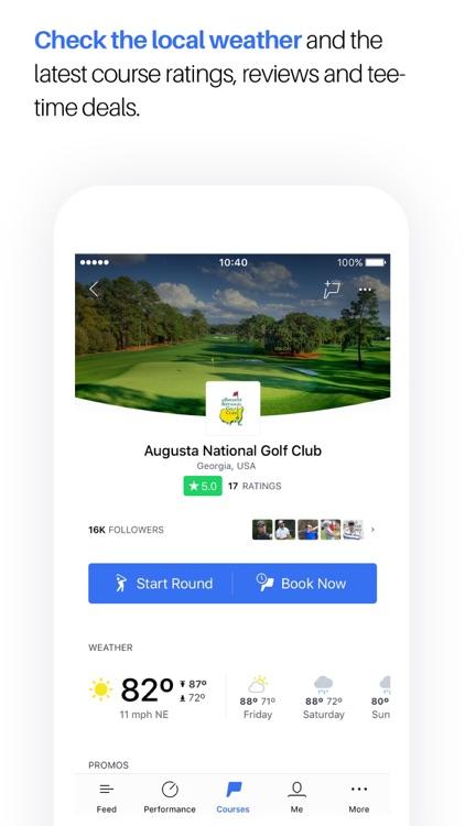 Golf GPS, Scorecard & Tee Time Booking - Hole19 screenshot-0