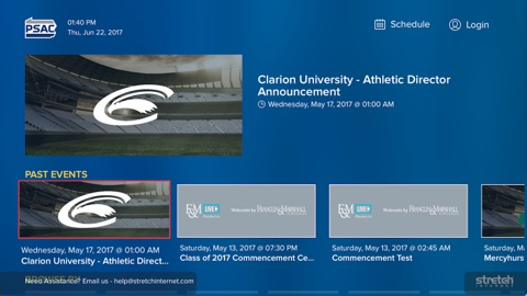 Screenshot #2 for PSAC Network